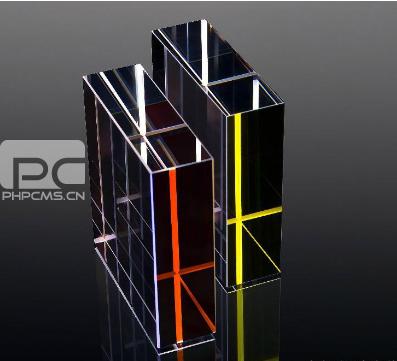 新兆光电-美容仪器用蓝宝石晶体导光块